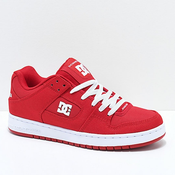 bb55a9c2440 DC Other - DC Manteca TC XE Red   White Skate Shoes Men s